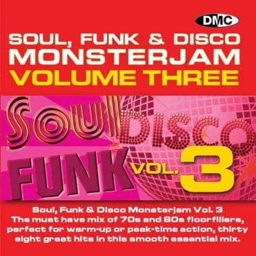 Soul Funk Disco 3 Monsterjam Grandmaster Style Continuous Megamix Mixed DJ CD