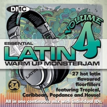 Warm Up Latin Monsterjam Volume 4 Ivan Santana Megamix CD