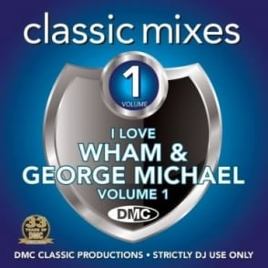 Wham & George Michael Vol 1 Megamixes & 2 Trackers Mixes Remixes DJ CD