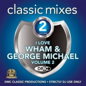 Wham & George Michael Vol 2 Megamixes & 2 Trackers Mixes Remixes DJ CD