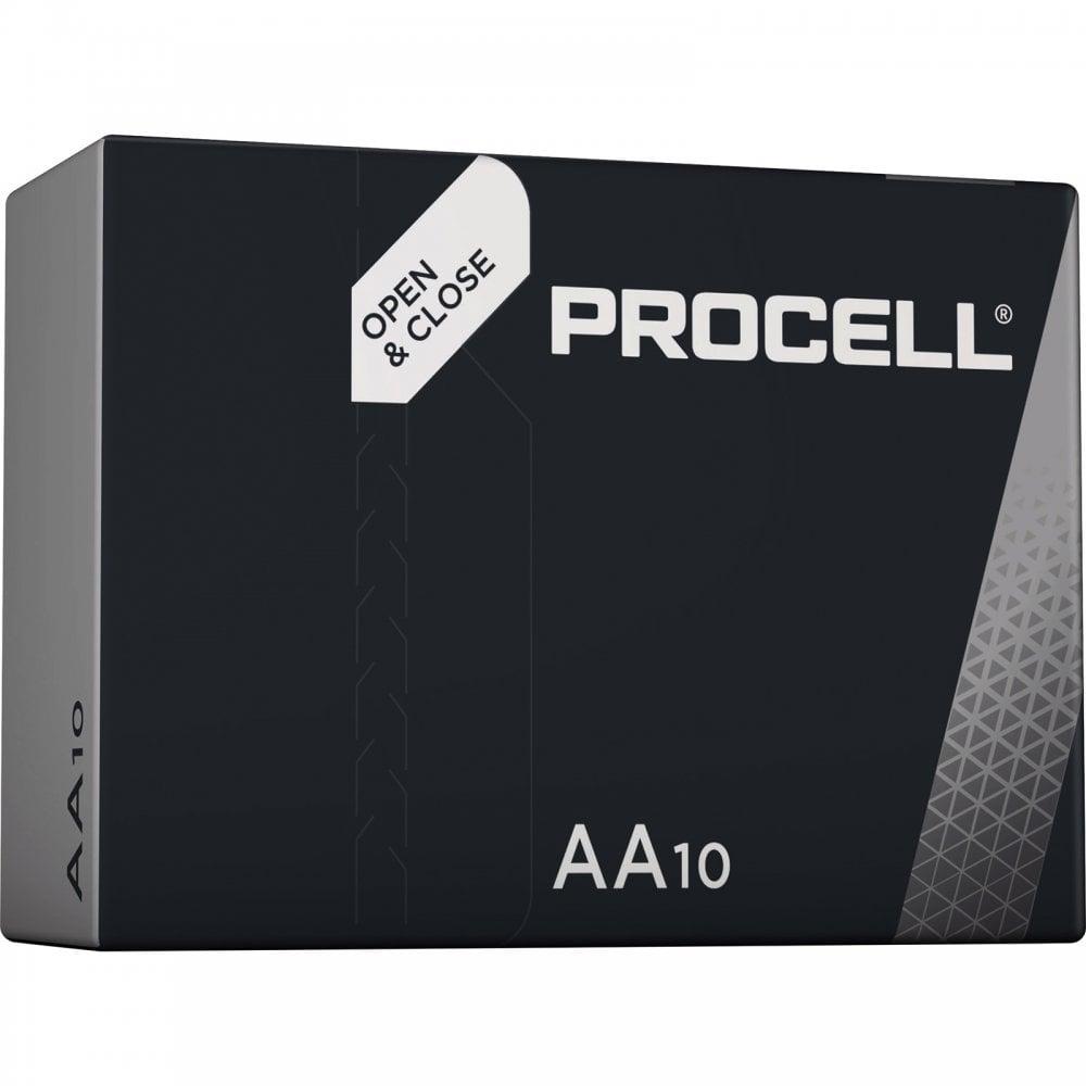 50x Duracell Industrial 9V E-Block MN1604 Alkaline 6LR61 Batterie Neue Ware