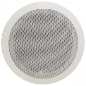 "100v Line Metal Easy Quick-Fit Ceiling Speaker 6W 5.25"" 1.5w & 3w Tapping"