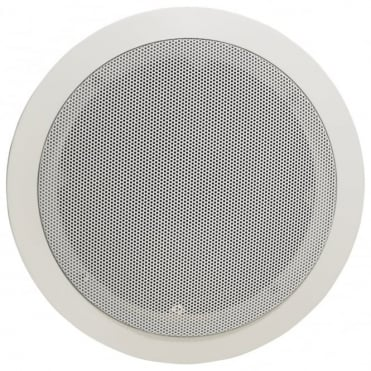 100v Line Metal Easy Quick-Fit Ceiling Speaker 6W 5.25
