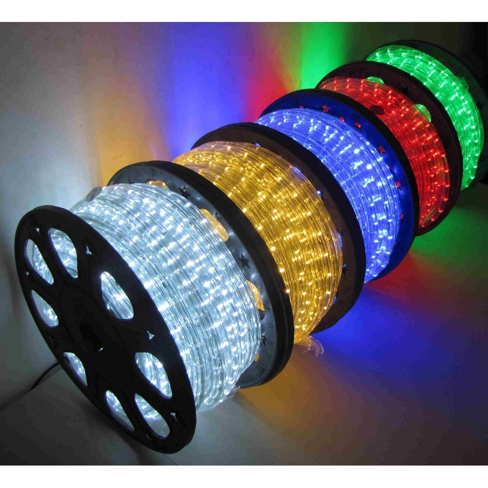 Led Rope Light Tinsel Bauble: 45M LED Rope Light Roll Garden Decking Mood Lights Kits