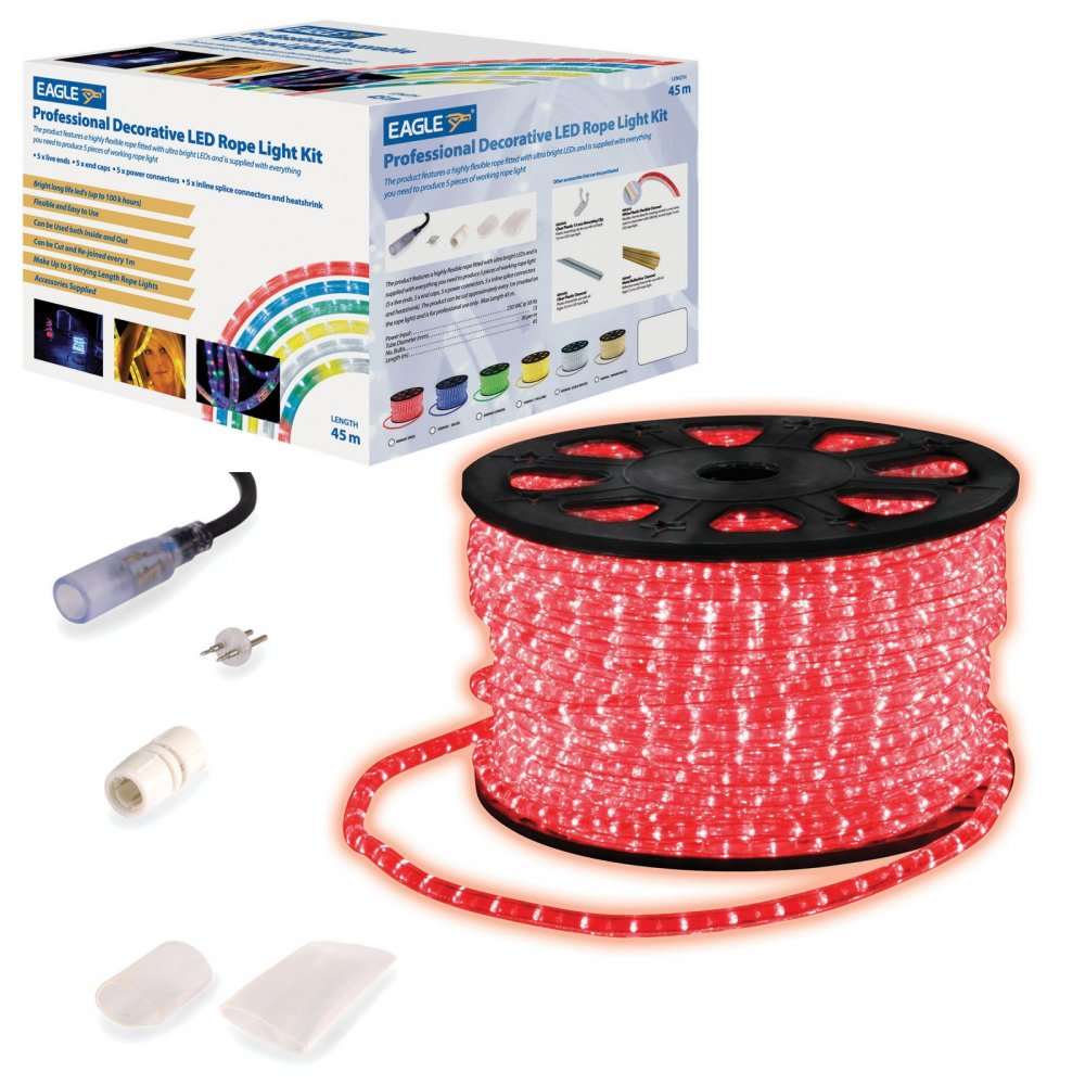 45m led rope light roll garden decking mood lights kits 45m led rope light roll garden decking mood outdoor lights kits aloadofball Choice Image