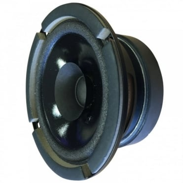 "5/14"" 132mm Black 45W RMS 8 Ohm Full Range Round Loud Speaker"