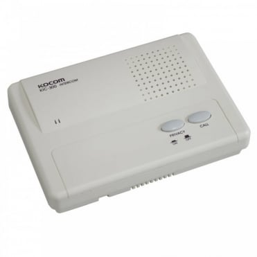 Kocom KC-300 High Qulaity Slave Intercom Unit with Privacy Button