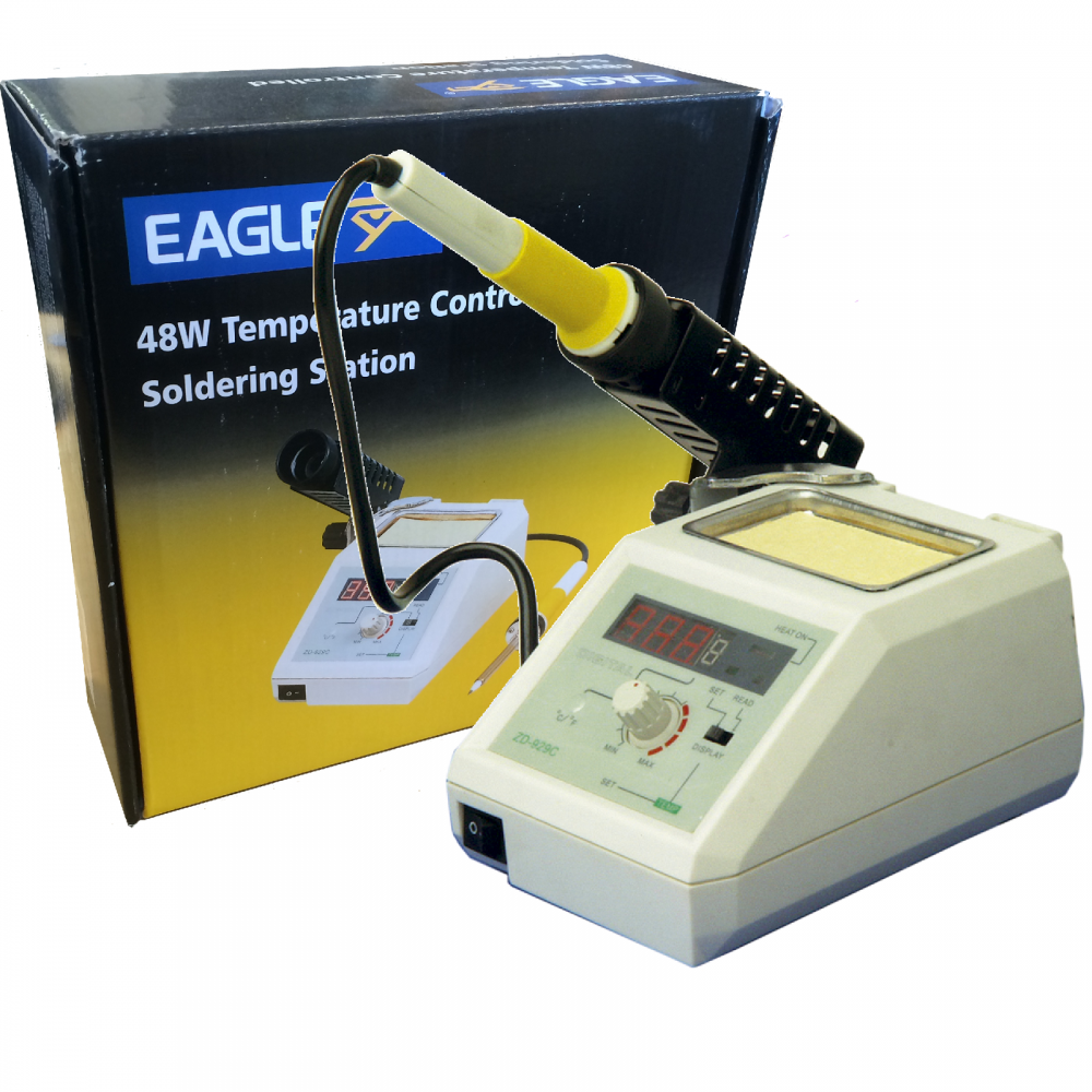 Temperature Controlled Professional Soldering Station How To Build Iron With Digital Indicator