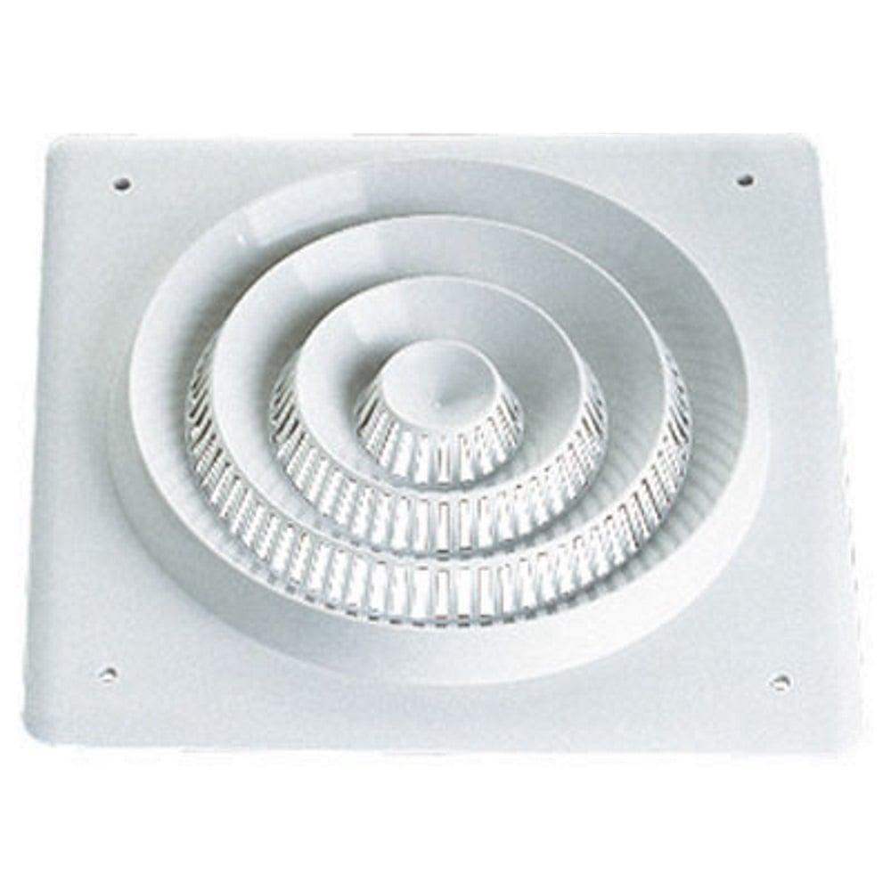 "plastic square ceiling speaker grill for 8"" 200mm driver"