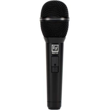 Cardioid Female Vocal Microphone with Switch - Includes Bag & Mic Clip