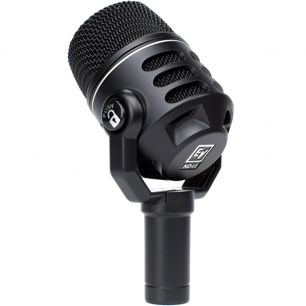 electro voice dynamic super cardioid instrument microphone. Black Bedroom Furniture Sets. Home Design Ideas