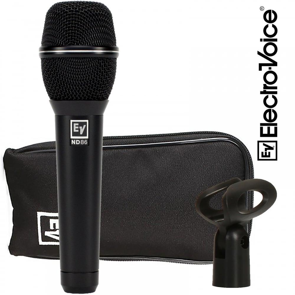 electro voice nd86 dynamic supercardioid vocal microphone ev nd 86. Black Bedroom Furniture Sets. Home Design Ideas