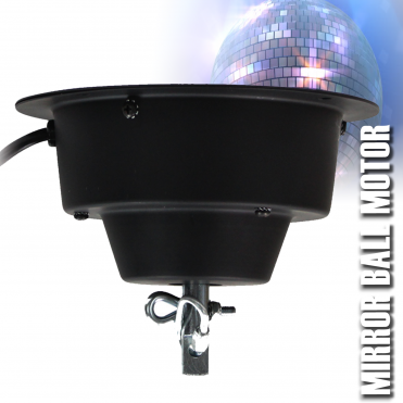 Heavy Duty Mirror Ball Motor For Up To 50
