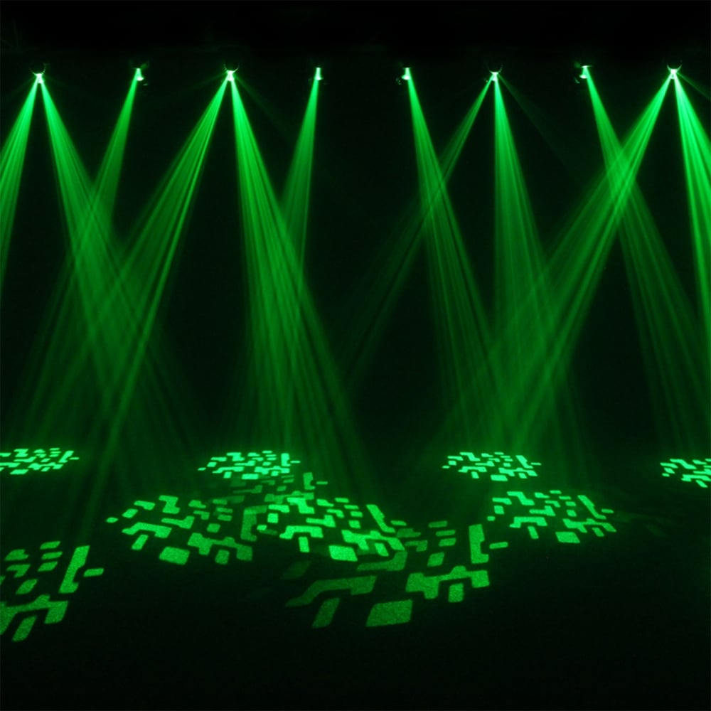 4 x Fusion Scan MAX 30W LED DMX DJ Lighting Effect 0-100% Dimming  sc 1 st  UKDJ & 4 x Fusion Scan MAX 30W LED DMX DJ Lighting Effects azcodes.com