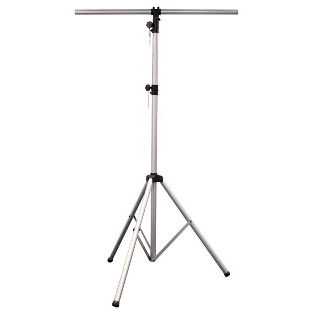 dj stan20a 12 u0026 39  foot lighting tripod light stand silver