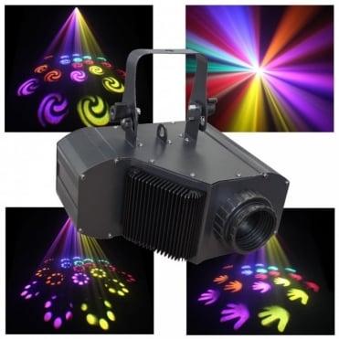 Power Flower COB LED DMX Lighting Effect 20W Data Moon Spin Moonflower