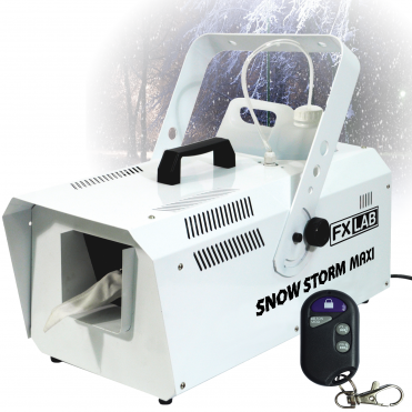1200w High Output Snow Machine Artificial Snowflake inc Remotes