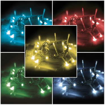Twinkling Fairy String Lights 20 LED Battery Operated 5 Colours