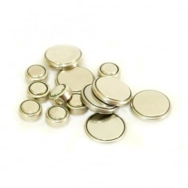 Lithium & Silver Oxide Button Coin Cell Batteries