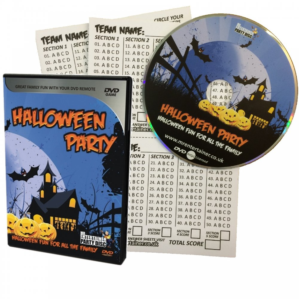 dvd karaoke disc halloween party classics sound effects pack