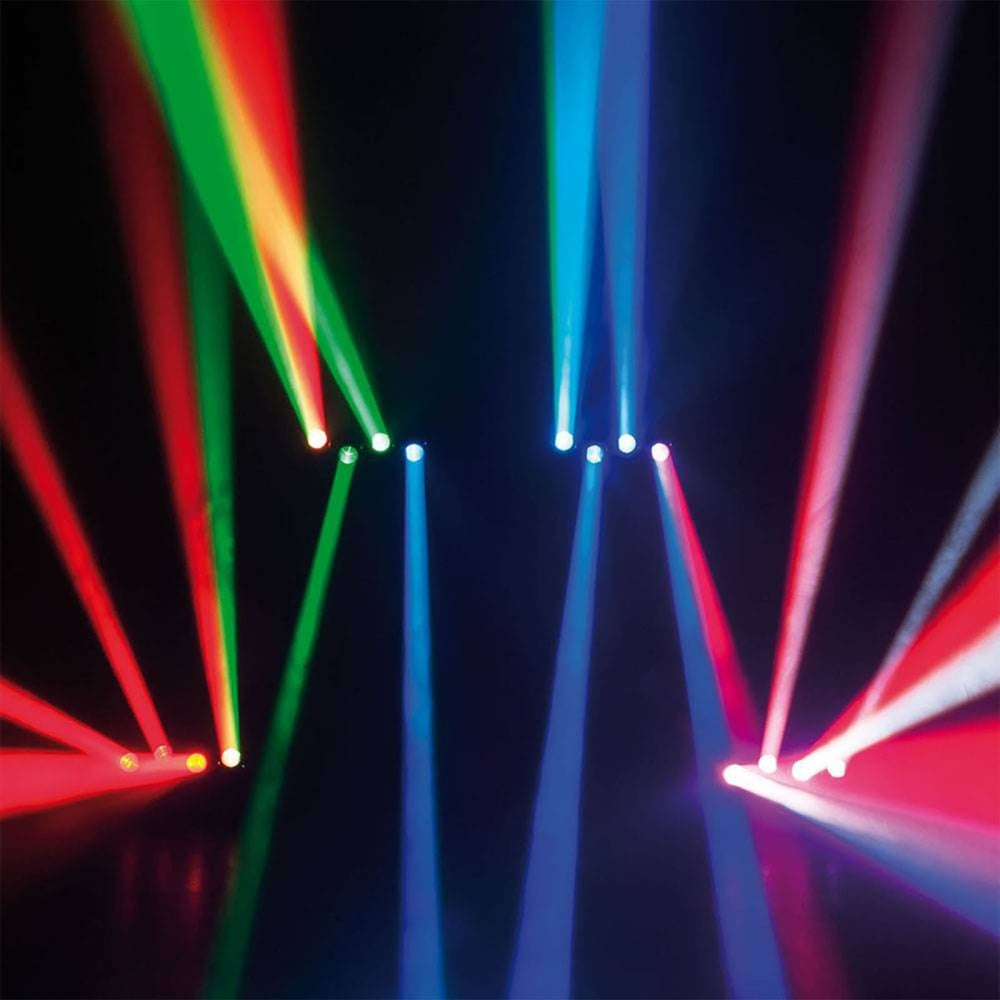 CENTER-4/RGBW 4 x 12W LED Moving Head Bar LED Lighting FX & CENTER-4/RGBW 4 x 12W LED Moving Head Bar Yoke LED Lighting FX DMX azcodes.com