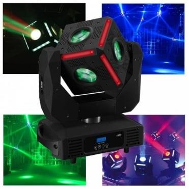 CUBE-630 LED Moving Head RGBW 6 x 30w LED DMX 630° Rotation