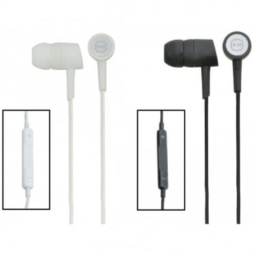 In-Ear Earphones With In-Line Controler Compatible With Apple® Devices