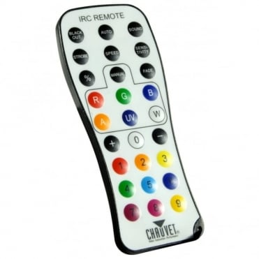 IRC - Infrared Remote Control For DJ Chauvet Lighting Effects
