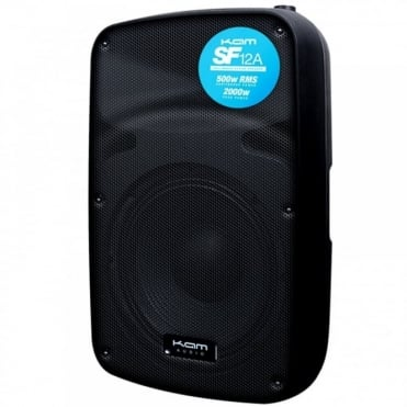 "SF12A 12"" Sound Force 500w RMS Active Speaker with Line/Mic Inputs"