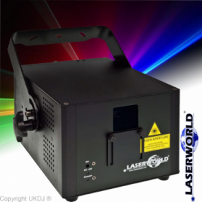 CS-2000RGB Mk 2 Compact Full Colour RGB ILDA Laser Light Show Projector