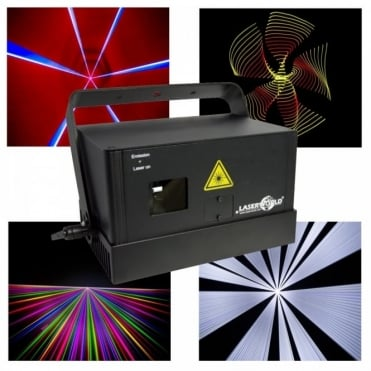 DS-2400RGB Full Colour ILDA Fast Scanning 40kpps Laser DJ Disco