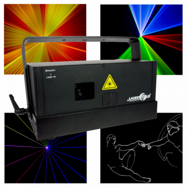 DS-3300RGB Full Colour ILDA Fast Scanning 40kpps Laser DJ Disco