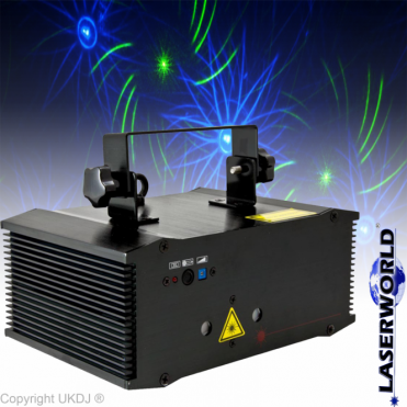 ES-800S RGB 3D DMX 800mw Laser Lighting Effect