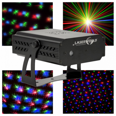 Micro Red Green Blue Star Effect Laser Lighting FX