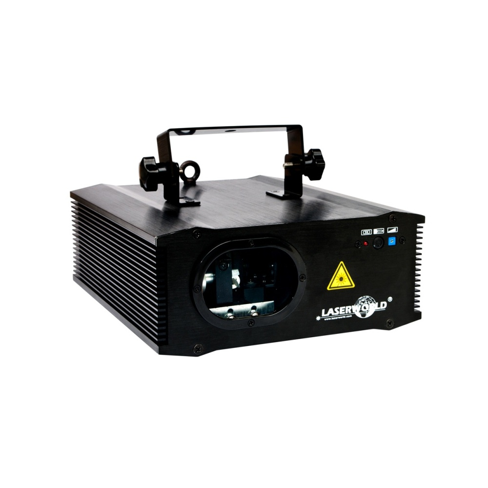 Laserworld Multi Colour RGB Laser with Ultra Bright Royal Blue and Fast  30kpps Galvo System
