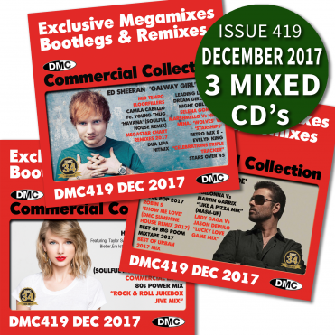 Latest DMC Commercial Collection Remix Megamix & 2 Tracker DJ CDs
