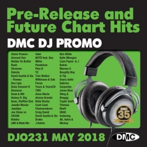 Latest DMC Monthy Promo Only of Radio Edit & Remix Chart Music DJ CDs