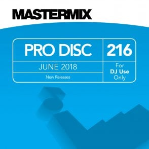 Latest Mastermix Monthly Pro Disc of Current & Future Chart Hits DJ CD