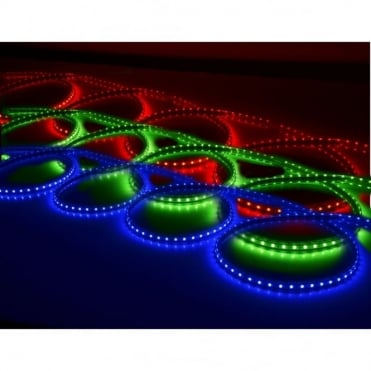 LED Strip - 10m Multi Colour RGB Indoor & Outdoor IP65 Rated