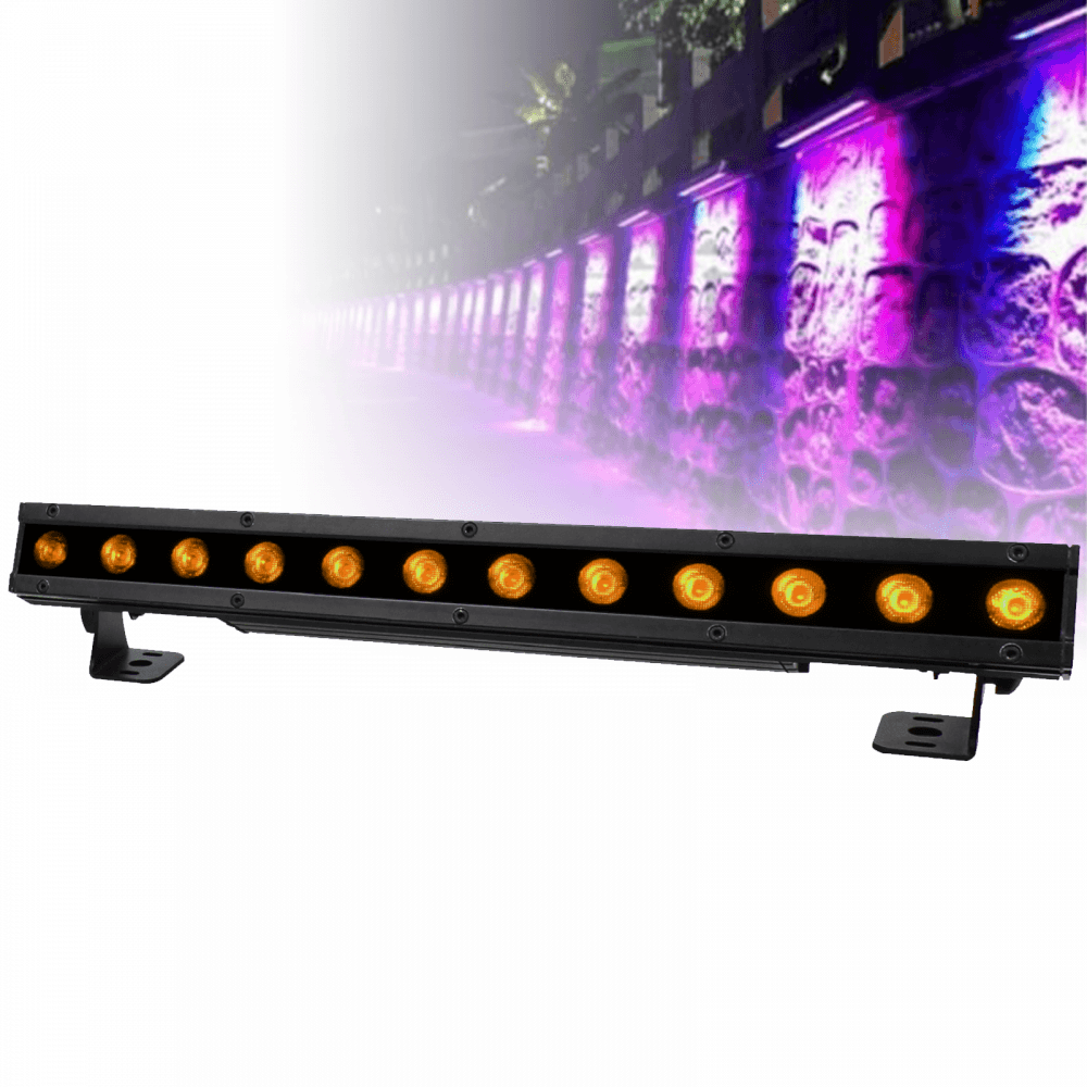 Indoor / Outdoor IP Rated RGB+W LED IP Colour Batten