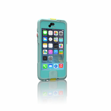 Shockproof Waterproof IP68 Rated Case for iPhone 5 / 5s in Aqua