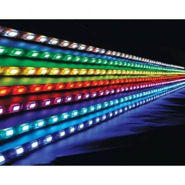 Low Profile RGB LED Tape 5.0m Reel IP65 Rated for Outdoor Applications