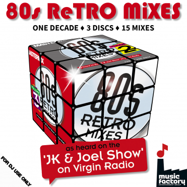 80s Retro Mixes 3 CD Set - 15 Megamixes of The Best Eighties Music