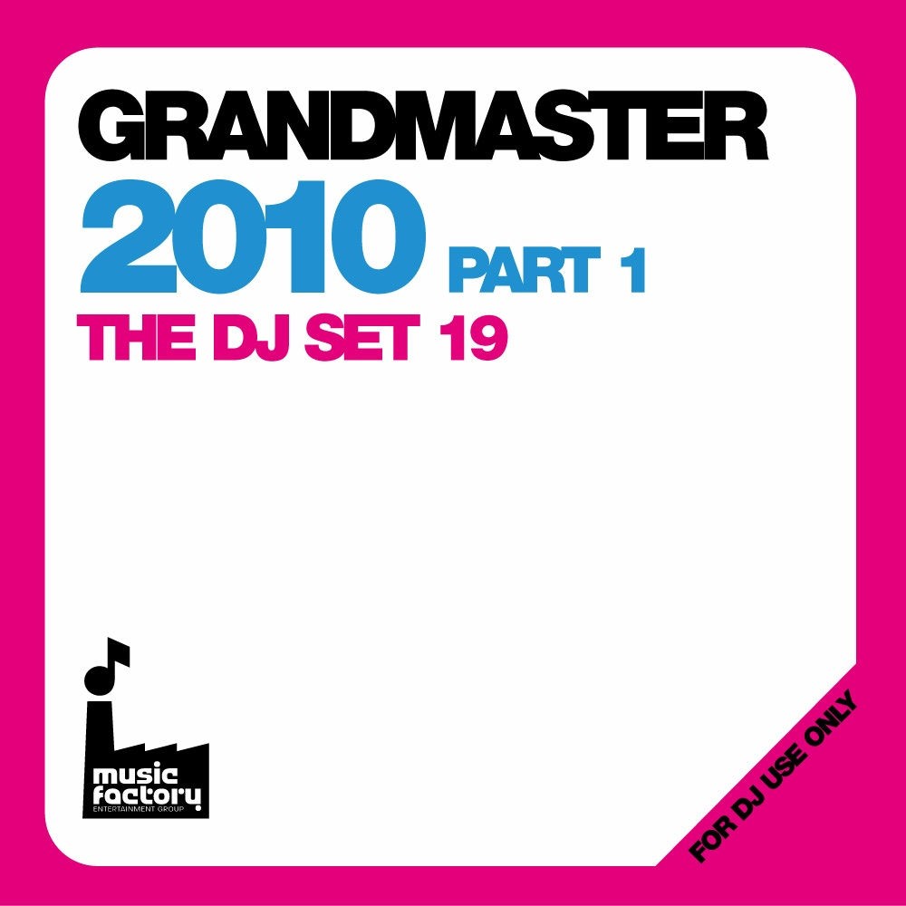 Grandmaster 2010 Pt1 & DJ Set 19 Chart Music Megamix Double CD