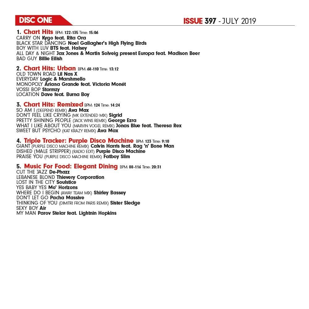 Issue 397 Twin DJ CD Set