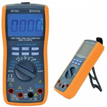 High Accuracy True RMS Digital Multi-Tester With USB Interface