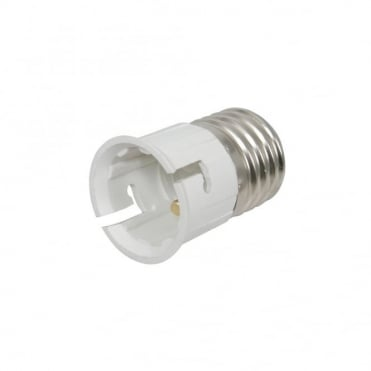 Lamp Socket Converter Screw E27 Plug to Beyonet B22 Socket