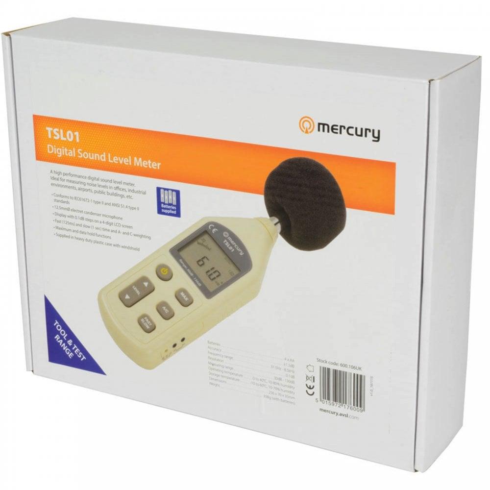 Professional Sound Level Meter Digital Decibel Reader