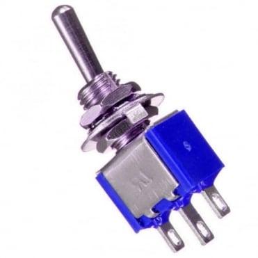 Sub-miniature toggle switch 1 x on / on - 3.2 x 8.2mm - 1A 250Vac 3A 125Vac