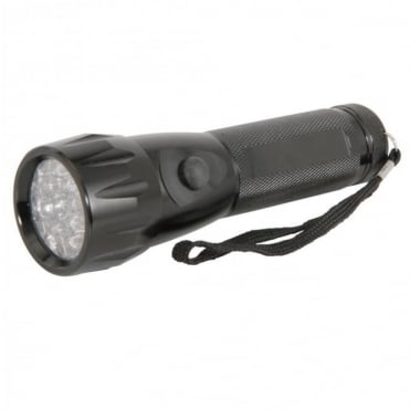 Water Resistant IP44 17 LED Torch Super Bright White 100000Hrs